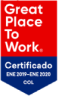 Certificado Great Place to Work